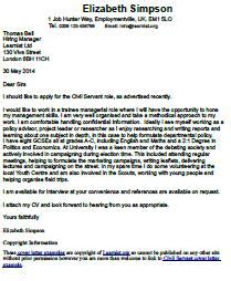 Cover letter examples marketing position